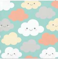 Servilleta Nubes