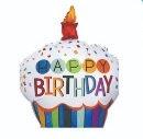 Globo Cupcake Happy Birthday