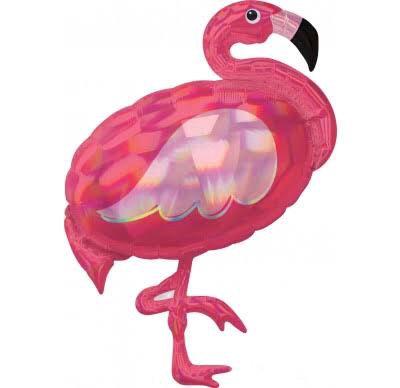 Globo Flamingo Metalico