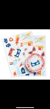 Stickers Comestibles Superhero