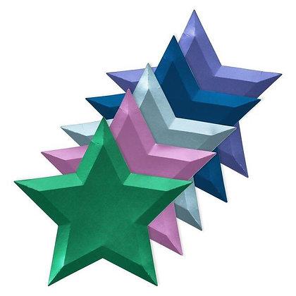 Star Foil Plates
