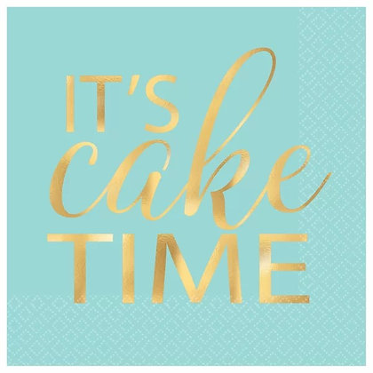 Servilleta It´s Cake Time
