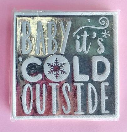 Servilleta Baby It´s Cold Outside