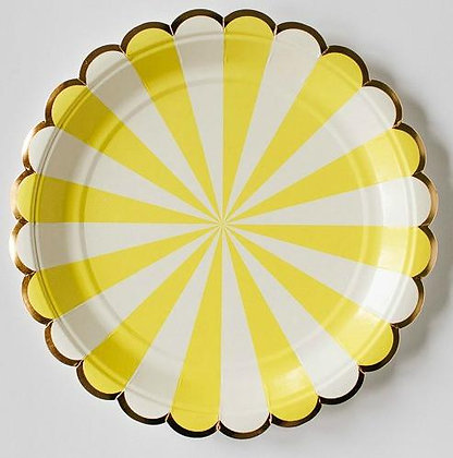 Too Sweet Yellow Plates Grande