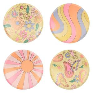 Psychedelic Side Plates