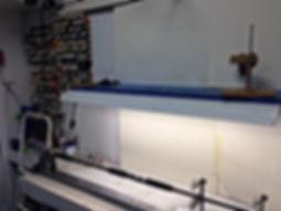 Fishing rod repair and cusom rod building machine