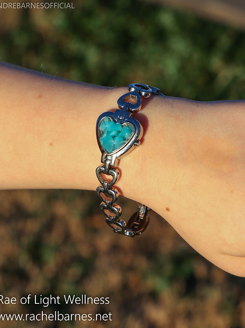 Amazonite Crystal Watch Infused with Healing Energy