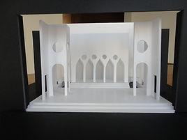 ontwerp maquette 'Een Nacht In Venetië' door Niels de Valk