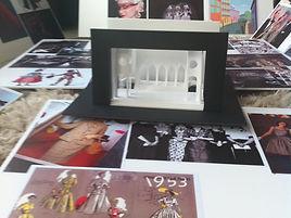 maquette en moodboards 'Een Nacht In Venetië' door Niels de Valk