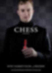 Chess musical Sven Vanrietvelde als Freddie Trumper; Bohemian Productions Sint-Niklaas