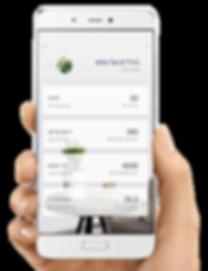 אפליקציה ומוניטור לניטור הצמח