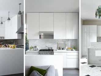Por qué las cocinas blancas son atemporales