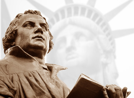 LADY LIBERTY OWES A DEBT TO MARTIN LUTHER