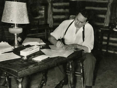 THOMAS WOLFE: FOR THE PURE JOY OF LANGUAGE
