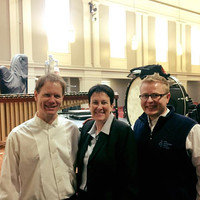 After concert with David Carlisle (MSO) and Jennifer Higdon