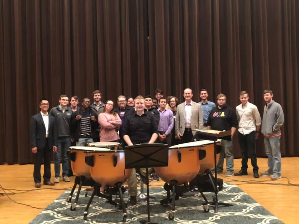 2019 timpani recital at NSU