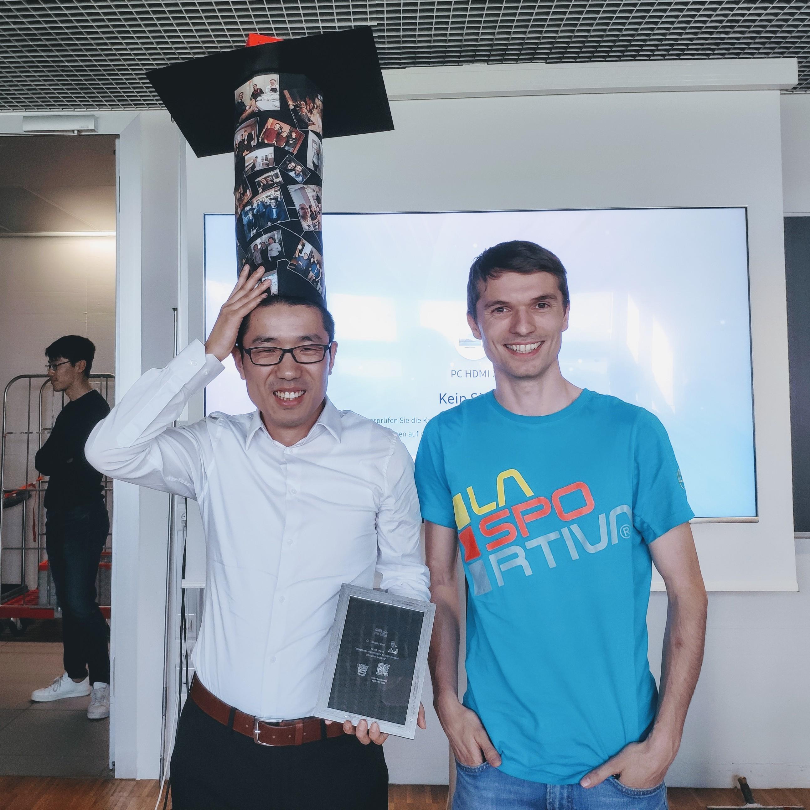 Xiaobao's PhD Graduation