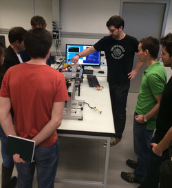 Lab Open Day - Oliver and the Robot!