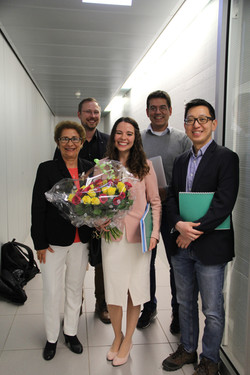 Nadia's PhD graduation