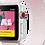 Thumbnail: Bracelete Nylon Loop Pearl Pink