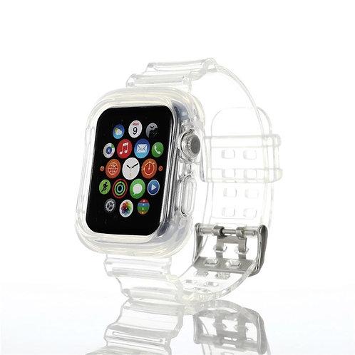 Bracelete e Capa de silicone transparente