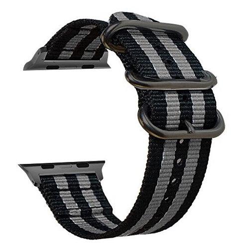 Bracelete Tecido de Nylon Cinza