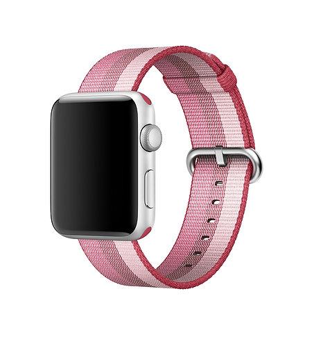 Bracelete Nylon Berry Red