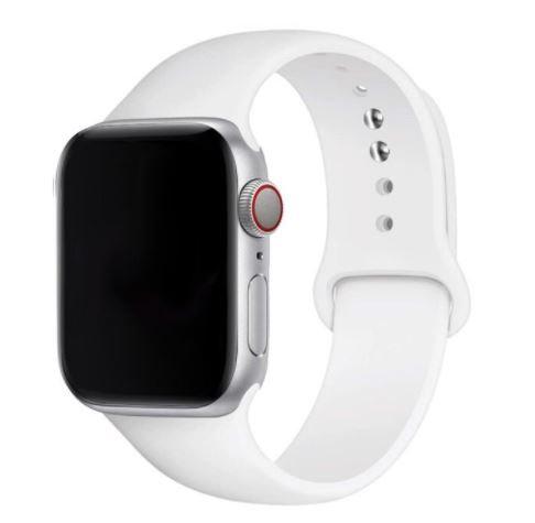 Bracelete Silicone Branca