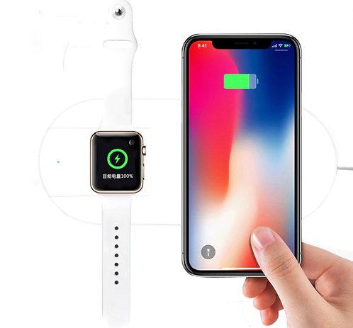 Carregador QI Wireless para Apple Watch + IPhone