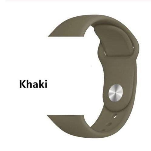Bracelete Silicone Khaki