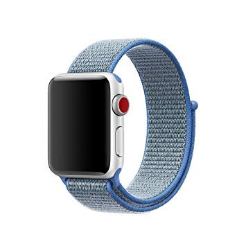 Bracelete Nylon Loop Tahoe Blue