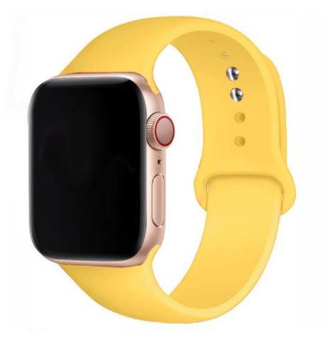Bracelete Silicone Yellow