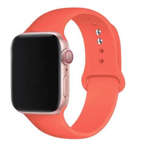 Bracelete Silicone Apricot