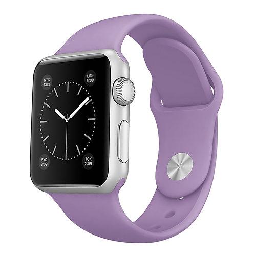 Bracelete Silicone Light Purple
