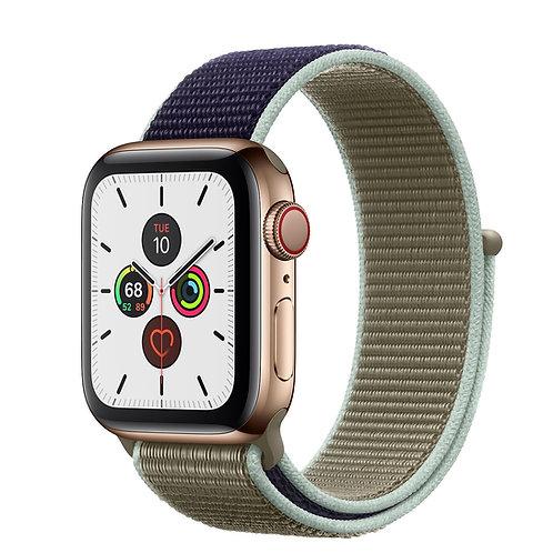 Bracelete Nylon Loop Khaki