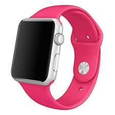 Bracelete Silicone Hot Pink