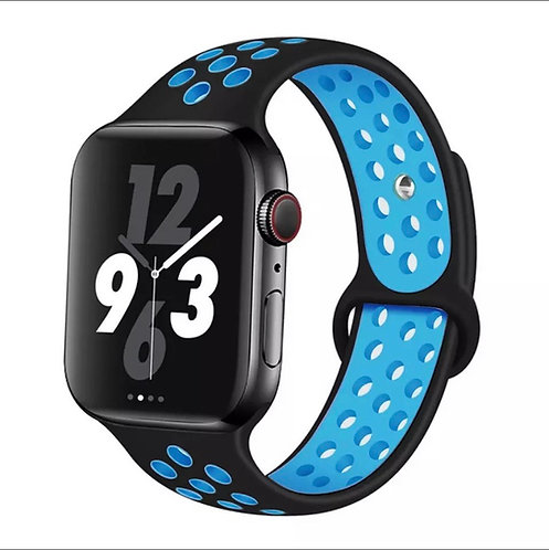 Bracelete Desportiva Dark Light Blue