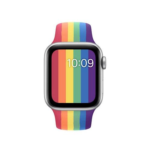 Bracelete Silicone Rainbow