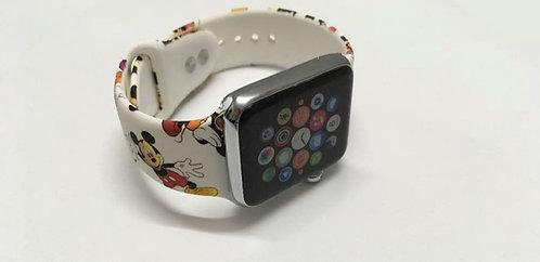 Bracelete de Silicone tema Mickey