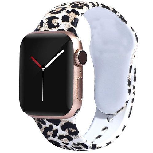 Bracelete Silicone Leopardo