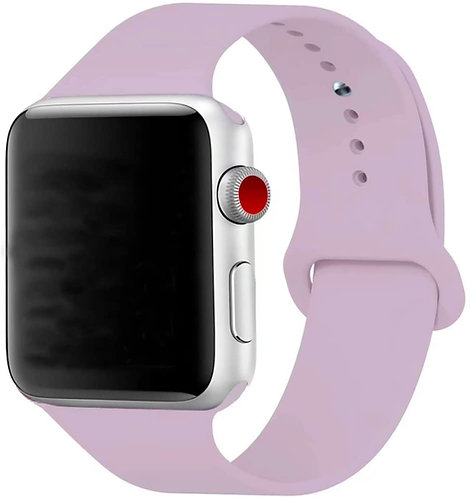 Bracelete Silicone Light Purple