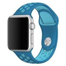 Bracelete Desportiva Blue Light Blue