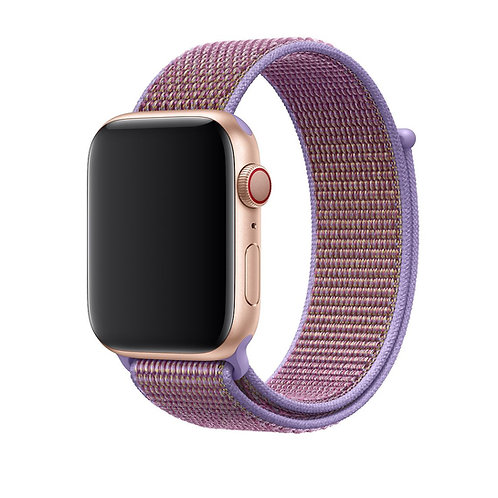 Bracelete Nylon Loop Lilac