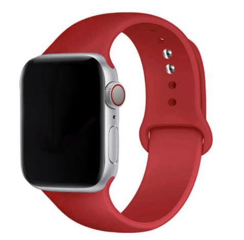 Bracelete Silicone Vermelha