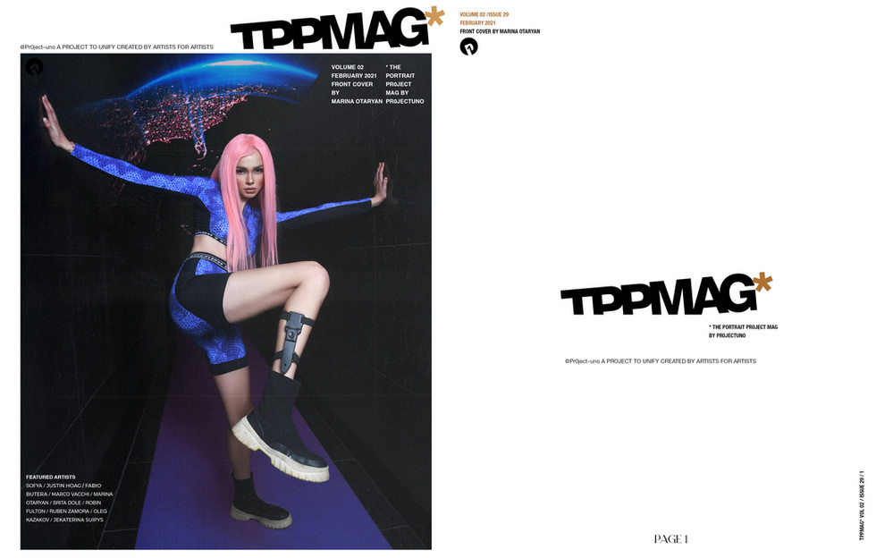 """""""SPACE GIRL"""" for TPPMAG"""