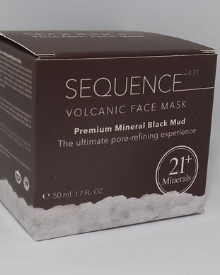 Volcanic Face Mask - Premium Mineral Bla