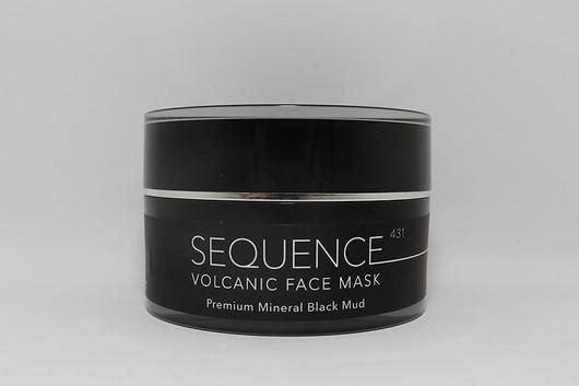 Volcanic Face Mask - Premium Mineral Bla