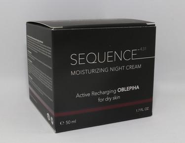 Moisturizing Night Cream - Active Rechar