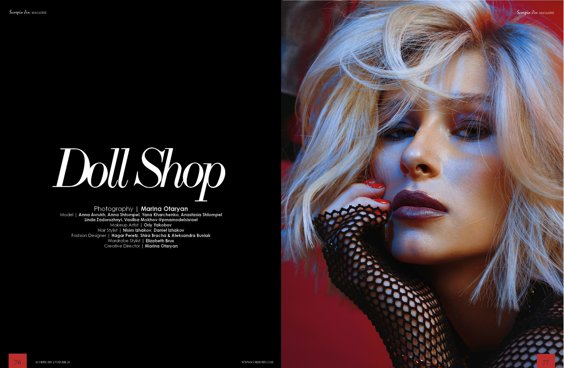 """Doll Shop"" for Scorpio Jin Magazine"