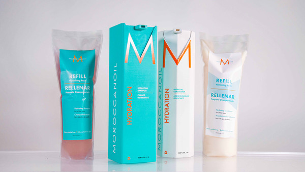 Moroccanoil Refill Packaging